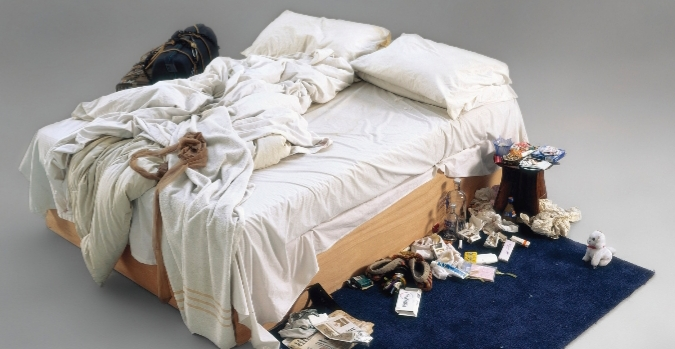 """Britart, Visual Art, """"Everyone I Have Ever Slept With"""", """"My Bed"""""""