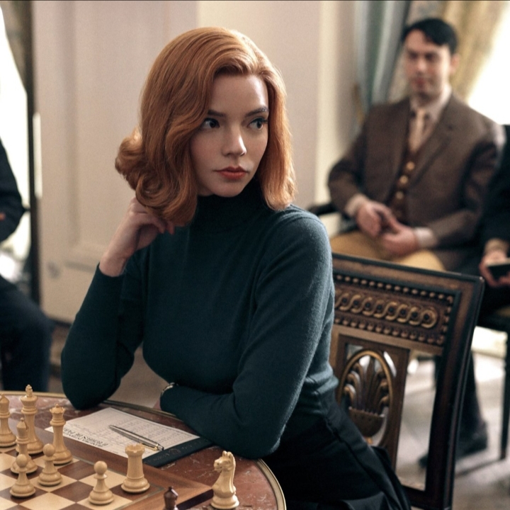 scacchi, netlfix, serie, regina