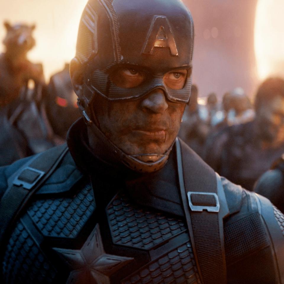 avengers endgame - captain america