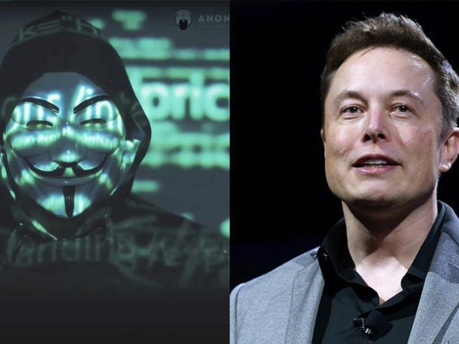 ANONYMOUS , Elon Musk
