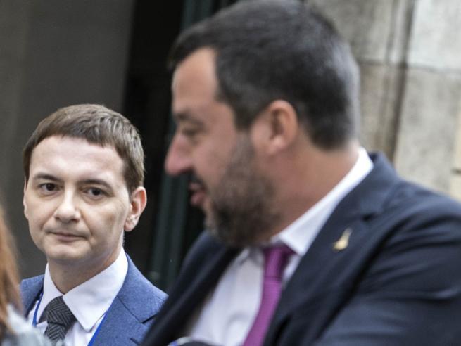 Salvini e Morisi